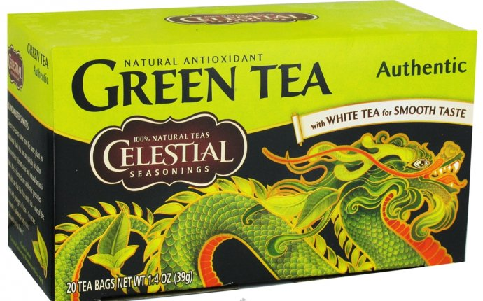 Celestial Seasonings green tea caffeine