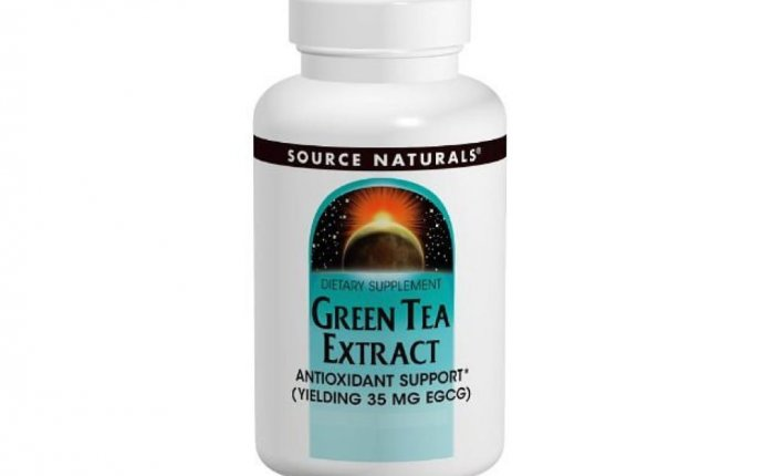 Does green tea extract contain caffeine