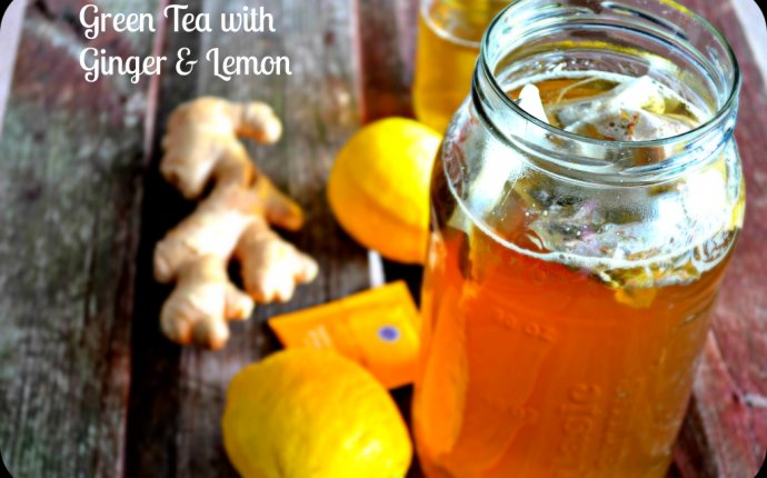 Weight loss with green tea and lemon